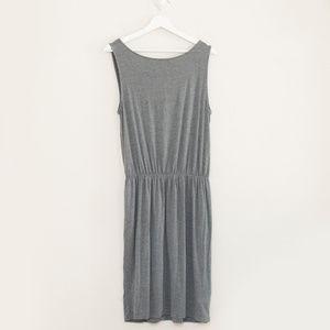 LOFT Dresses - LOFT Sleeveless Faux Wrap Knit Dress L